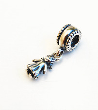 "Genuine Pandora Dangle Charm ""Sugar and Spice"" Little Girl - 790860 - retired"