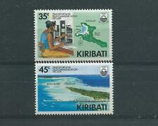 Kiribati SG293-294 1988 Transport & Telecoms Decade Unhinged Mint