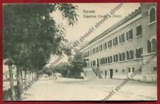 VERONA CITTÀ 214 CASERMA CASTEL S. PIETRO Cartolina