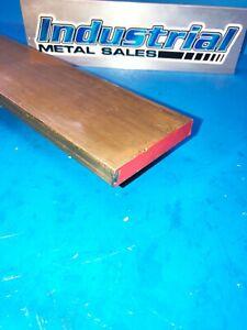 """1/2"""" x 3"""" x 12""""-Long 360 Brass Flat Bar -->.500"""" x 3.0"""" 360 Brass MILL STOCK"""