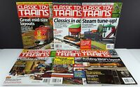 Classic Toy Trains Magazine, 2012, 6 Issues May,Jul,Sep,Oct,Nov,Dec Publication