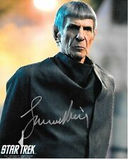 Leonard Nimoy New 2009 Star Trek Movie as Spock Prime Autographed Picture #4