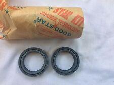 Front Fork Oil Seal 35x48x11 Honda CB450 500 650 CB750 CB550 CL450 GL CX MR X x2