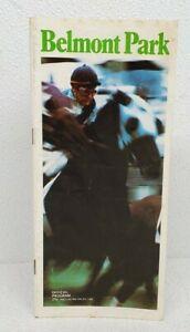 SECRETARIAT IN 1973 BELMONT STAKES Horse Racing Program FINAL TRIPLE CROWN RACE