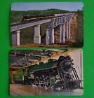 Mid Modern Ad Southern Railway-2 Train RR Swap Playing Card Singles-Engine