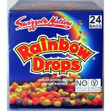 24 Rainbow Drops Large 32g Size Bag Retro Sweets Party Bags