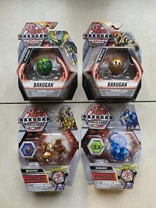4 X Bakugan Armored Alliance  Geogan Rising Brand New Sealed Inc Blue Maxodon