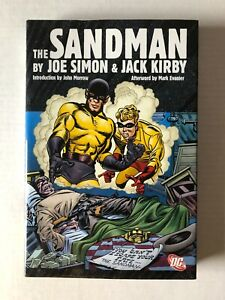 The Sandman by Joe Simon & Jack Kirby Hardcover HC Graphic Novel DC Comics 2009