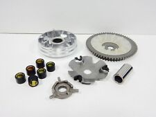 50cc VARIATOR ASSEMBLY FOR SCOOTERS WITH 4-STROKE QMB139 MOTORS (8.5gm ROLLERS)