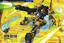RGC Huge Poster - Mobile Suit Zeta Gundam Anime Poster Glossy Finish - GUNZ06
