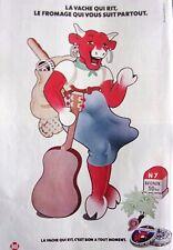 publicité de presse   LA VACHE QUI RIT  en 1977   ref. 33496