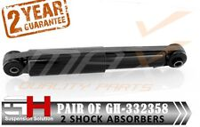 2 AMMORTIZZATORI POSTERIORI FIAT 500, PANDA, FORD KA, STREET KA/GH-332358/