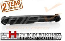 2 REAR GAS SHOCK ABSORBERS FIAT 500, PANDA, FORD KA, STREET KA  ///GH-332358///