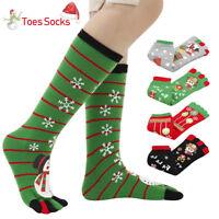 1 paire chaussettes Noël festives pour femmes, chaussettes à cinq chaussettes ME