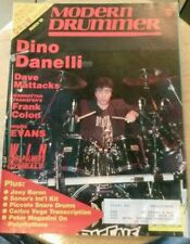 Modern Drummer Magazine back issue DINO DANELLI  MARCH 1989