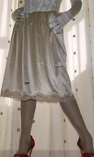 """Or soyeux nylon 27"""" jupon demi à La Taille Slip Lingerie ~ Sous-vêtements Taille 20 ~ 22"""