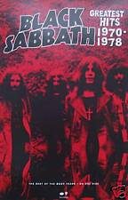 BLACK SABBATH POSTER, GREATEST HITS PROMO (B4)