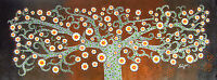 The Secret Kurrajong Tree Art Painting By Jane Crawford Australia landscape