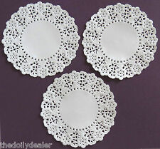 """50 X CREATE AND CRAFT 14CM = 5.5"""" DAISY CHAIN PAPER LACE DOILIES  AS SEEN ON TV"""