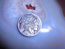 1920 Hobo Nickel Gears Indian head Steampunk Buffalo Nickel