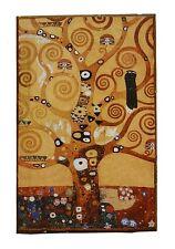Gustav Klimt Lebensbaum Unikat auf 100 Jahre altem Ziegel 8 Jugendstil