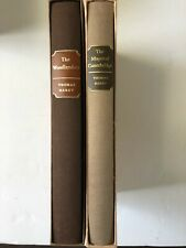 Folio Society The Woodlanders and The Mayor of Casterbridge by Thomas Hardy