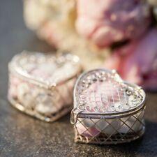 Süßigkeitenboxen Herz-Form | Mini Herz Box Metall Gastgeschenk Hochzeit Giveaway