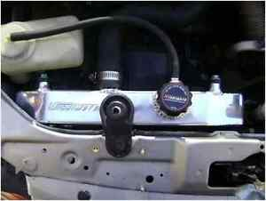 MISHIMOTO RACING ALUMINUM RADIATOR FOR 92-00 HONDA CIVIC/DEL SOL