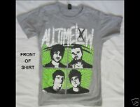 ALL TIME LOW Junior Size XS Gray T-Shirt
