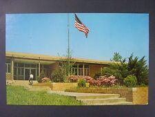 Eddyville Kentucky KY Lyon County Courthouse Color Chrome Postcard 1960s Vtg