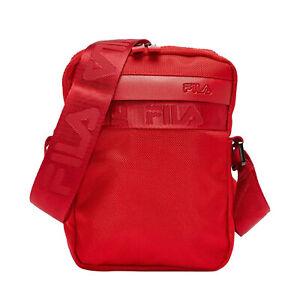 Fila Unisex LA038155 Retro Cross Body Bag - Red - One Size