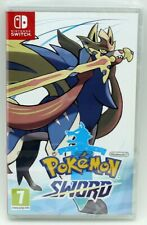 Pokemon espada Nintendo Switch sellado de fábrica juego físico