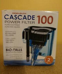 PENN-PLAX CASCADE 100 POWER FILTER BIO-FALLS