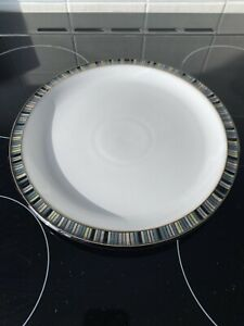 Denby Jet Stripe Large Plates x6