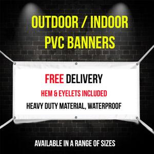 PVC Banners Outdoor/ Indoor Advertising Sign - Waterproof - Exhibition Display