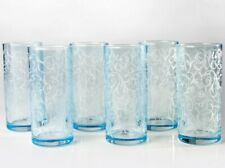 6 Tall Highball Tumbler Drinking Glasses Cocktail 9.5 fl oz Juice Glass