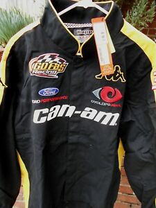 Jeffrey Earnhardt CAN-AM/Go Fas Racing team Jacket size LARGE - NWT