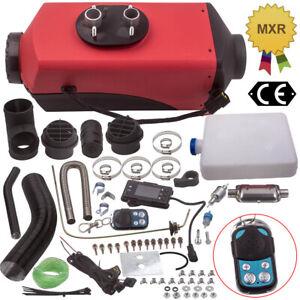 12V 5KW Diesel-Standheizung Luftheizung LCD Schalldämpfer LKW PKW Wohnmobil NEU