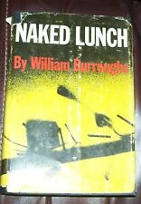 1959 Naked Lunch William Burroughs HBDJ 1st Edition, Stated Ninth Print