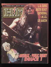 HM HEAVY METAL 121/1992 JESTER BEAST SANTARITA SAKKASCIA BOWIE TIN MACHINE CULT