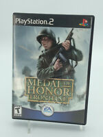 Medal of Honor Frontline PlayStation 2 PS2 Game W/Manual Tested Free Shipping