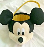 MICKEY Mouse PLUSH Souvenir Bucket DISNEY Parks TREATS Snack Popcorn Food