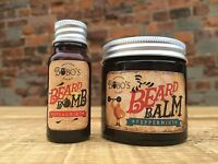 BOBOS BEARD COMPANY BEARD BALM 50ML WITH A FREE BOTTLE OF BOBOS BEARD BOMB OIL