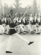 Chile's Goosestep Gal, Parade in O'Higgins Park Vintage silver print
