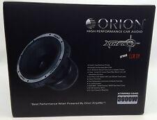 """Orion XTRPRO104D Car 10"""" Dual 4-Ohm DVC XTR PRO Series Subwoofer (3600W Max)"""