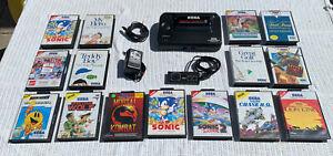 Sega Master System - Fully Working - PAL - U.K. + Loads Of Games - All Official