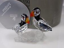 SWAROVSKI CRYSTAL PUFFINS RETIRED 2009 MIB #261643