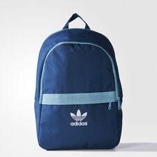 NEW adidas Originals  Essentials Backpack School Book Bag  AJ6918  BLUE  LAST1