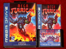 *Complete* MEGA TURRICAN Game English For Sega Mega Drive Genesis