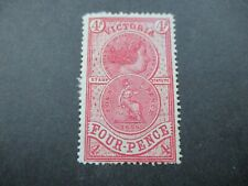 Victoria Stamps:  Stamp Statute Mint with gum    - RARE    -  (k169)